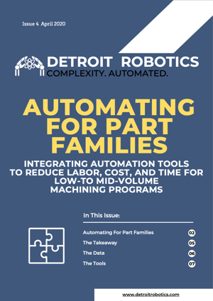 Automated for Part Families